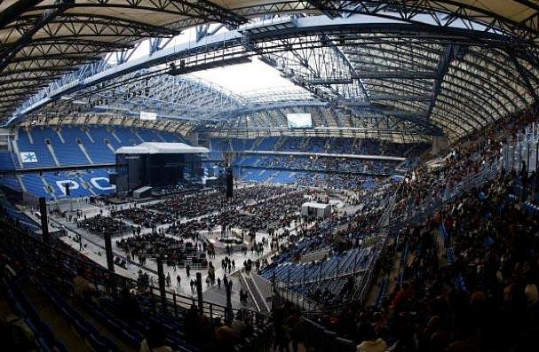 стадион в Познани ( Польша)