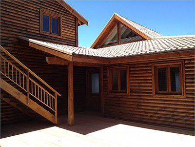 Деревянная архитектура ЮАР