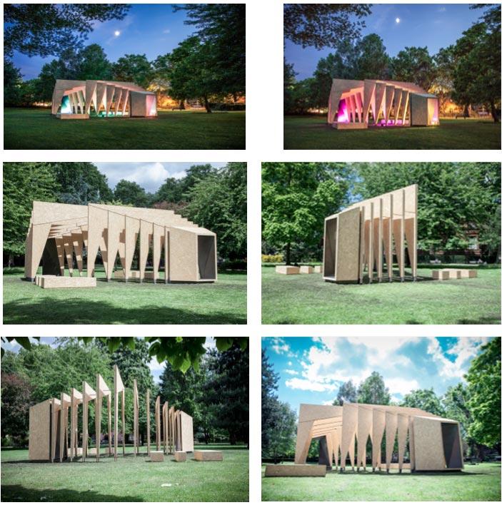 Archtriumph pavilion